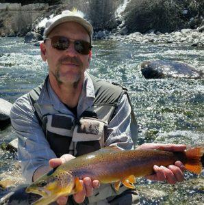 Fly fishing ten mile